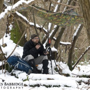 Episode #103 – Snow, Twigs, Shelter, Filming