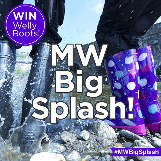 Mountain Warehouse Big Splash Competition!