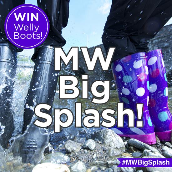 Mountain Warehouse Big Splash Competition!