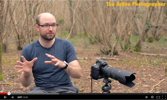 Video: Giles On The Business Of Photography