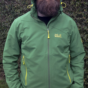 Test/Review:  Jack Wolfskin Turbulence Jacket