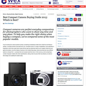 Buyers Guide – Compact Cameras (Point-and-Shoot)