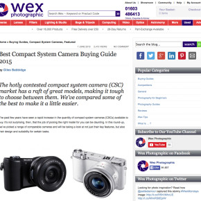 Buyers Guide – Compact System Cameras