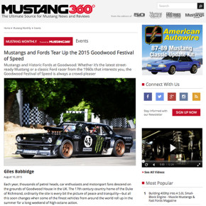 Goodwood FOS For TEN / Mustang Monthly