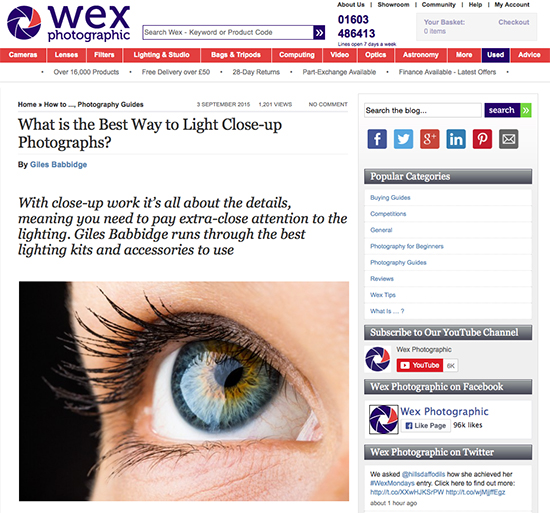 TAP_Wex Blog_Close-up lighting kit guide, 03.08.15