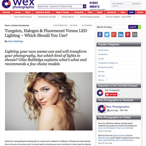 Tungsten, Halogen & Fluorescent Vs. LED Lighting