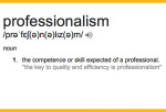 Episode #207: The Need For Professionalism
