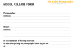 Episode #212: The Photography Model Release Form