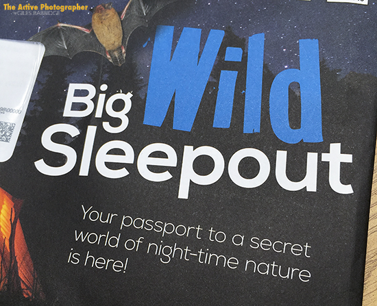 TAP_RSPB Big Wild Sleepout pack 2016_© Giles Babbidge Photography 2016