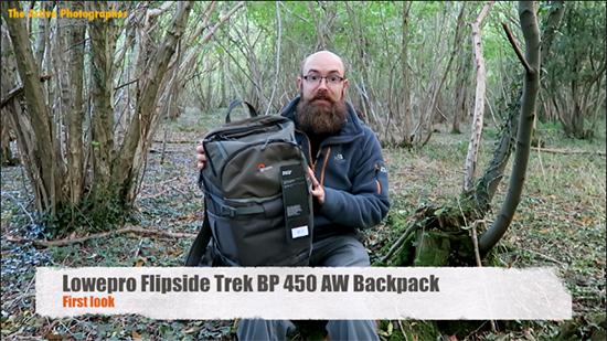 Video: First Look – Lowepro Flipside Trek BP 450 AW Backpack